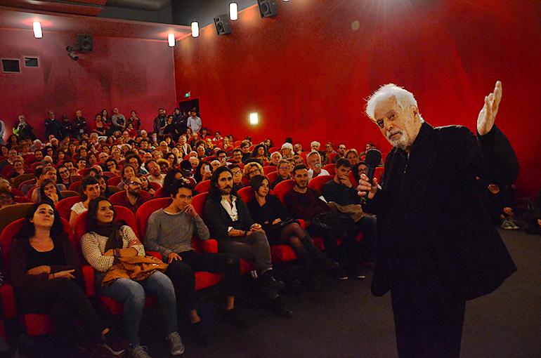 AleJandro Jodorowsky au Cinéma Variétés